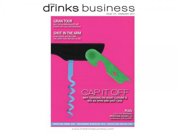 A tampa para vinho Sughera ganha a segunda patente e segue para o The Drinks Business.