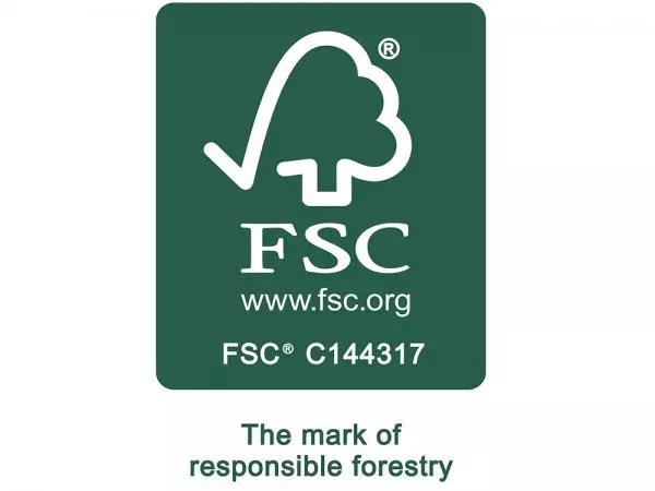 2018: certificação FSC®