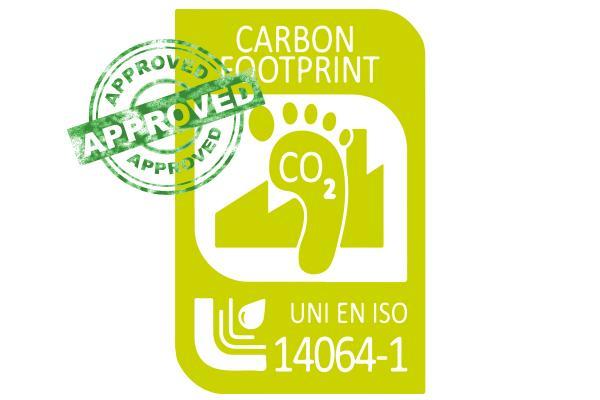 2017: Certificação UNI EN ISO 14064
