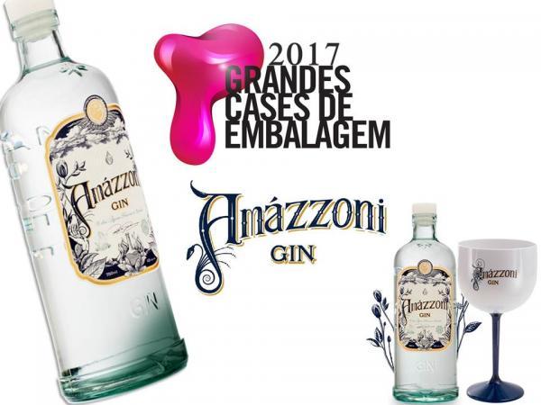 A vencedora do prêmio Grandes Cases de Embalagem 2017 é nossa parceira Amázzoni Gin.